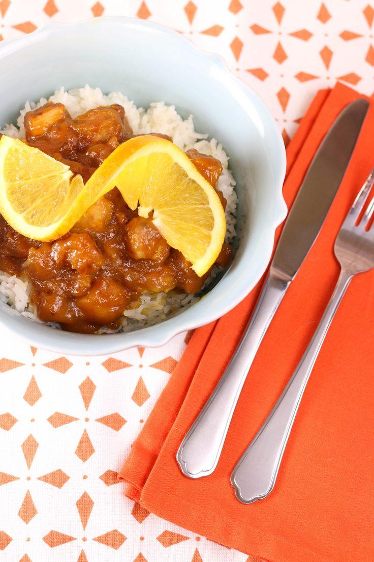 Tasty Orange Chicken | AllFreeSlowCookerRecipes.com