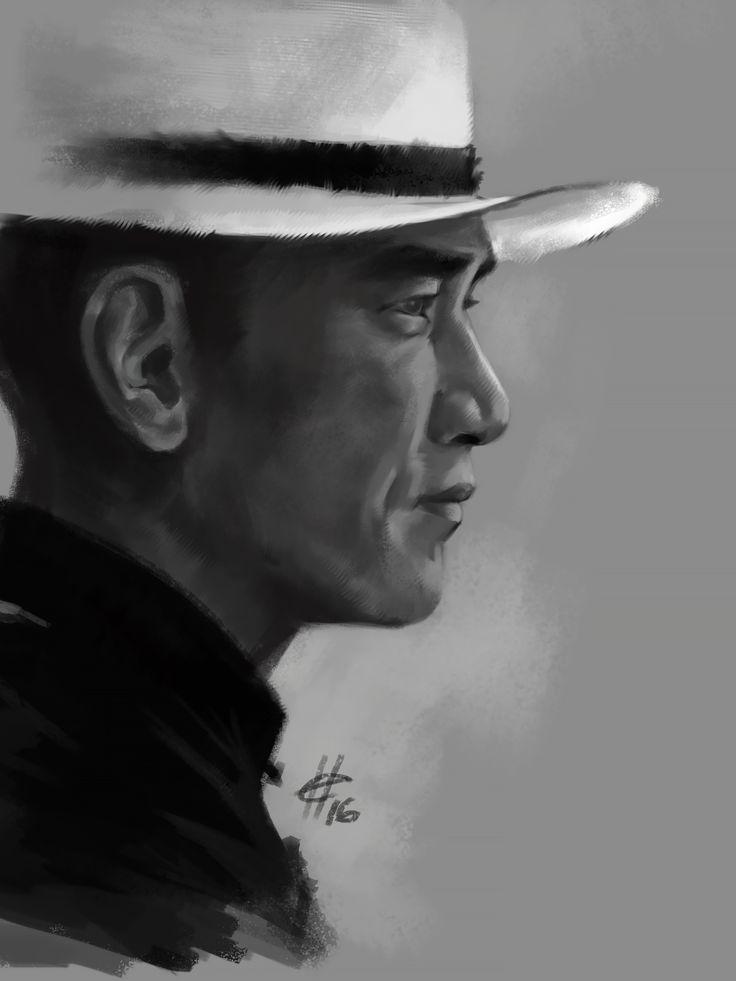 Tony Chiu Wai Leung/The Grandmaster #art #sketch #drawing #fanart #TonyChiuWaiLeung #TheGrandmaster #digitalart