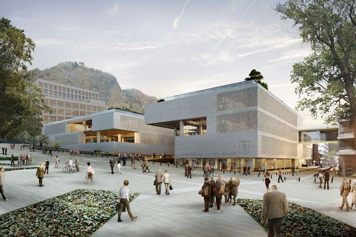 Conoce el futuro centro cívico universitario diseñado por Konrad Brunner y…