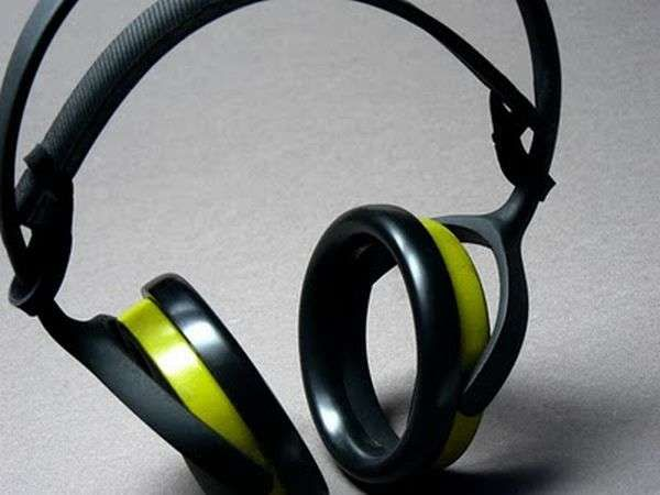 """Hollowed out headphones"" Bone Conduction Headphones"