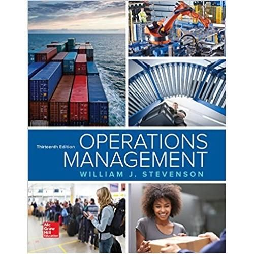 Operations Management 13th Edition ISBN-13: 978-1259667473 (EBook