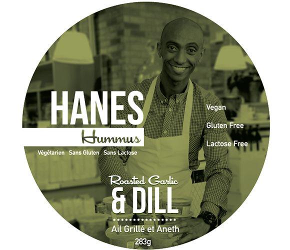 Hanes Hummus | Roasted Garlic & Dill