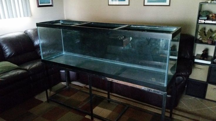 125 gallon Aquarium with stand fish tank large
