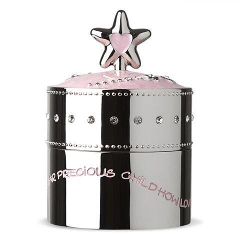 Peter's Of Kensington | Whitehill - Pink Star Baby's Musical Box