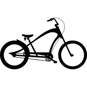 Chopper Fahrrad - Ein Fahrrad in Form einer Chopper bzw. City Cruiser f�r entspanntes radeln.