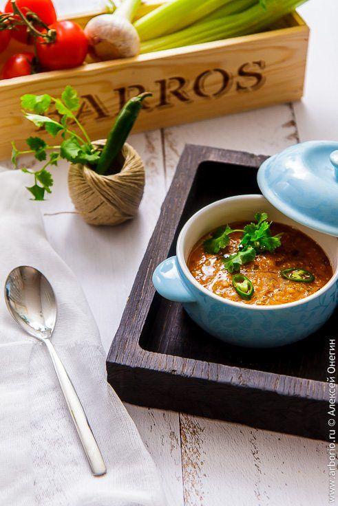 Фото к рецепту Суп из чечевицы
