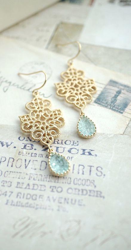 Wedding Gift Ideas Something Blue : Bridesmaids Gift. Blue Bridal, Something Blue, Aqua Blue Wedding Ideas ...