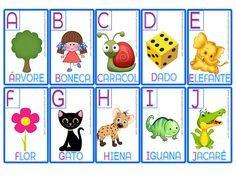 Jogo da Memória - Alfabeto - A Arte de Ensinar e Aprender