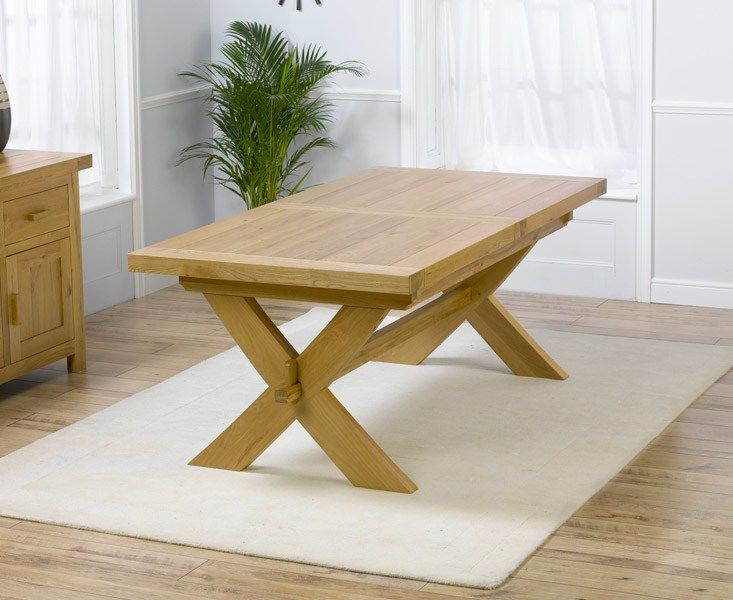 35+ Chunky solid oak dining table and 4 chairs Top