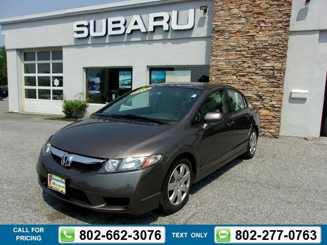 2011 Honda Civic LX 55k miles $10,063 55572 miles 802-662-3076 Transmission: Automatic  #Honda #Civic #used #cars #BenningtonSubaru #Bennington #VT #tapcars