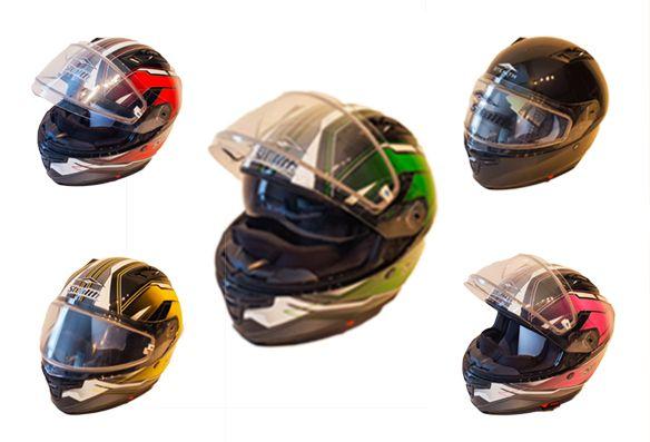Casque de moto et motoneige (VTT) – Vega F117 (Toute la saison) - Price:109.99  Casque de moto et motoneige (VTT) – Vega F117 (Toute la saison) avec une vitre doublé, un masque cache-nez anti-froid, vitré paré soleil intégré. ECE & DOT homologation Coque en résine thermoplastique Mousses de joues amovibles et doublure Grand angle de pointe réglable Le poids 1450 +/- 50 g Motorcycle and ATV helmet – Vega […]  Cet article Casque de moto et motoneige (VTT) – Vega F117 (Toute la saison) est…