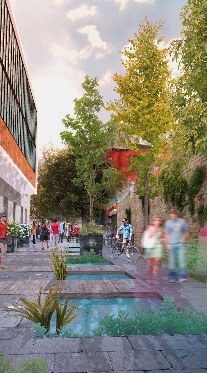 propuesta encargo ampliación patio hotel Santiago.