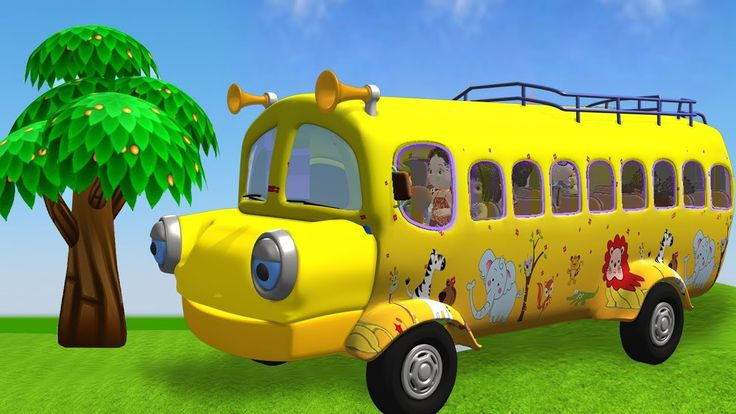 Wheels On The Bus | All Kids songs | 20 Minutes Compilation for Kids