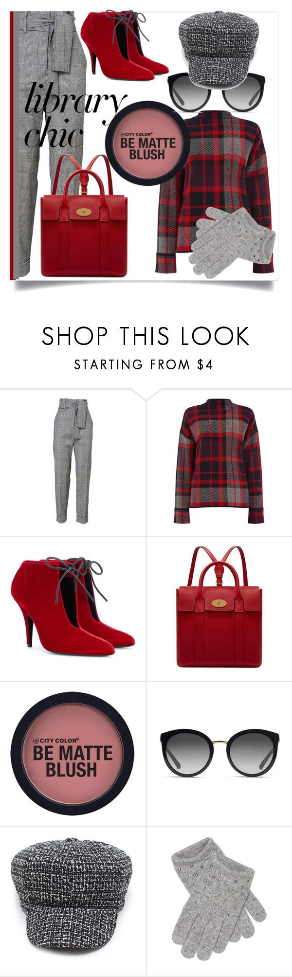 """""""Work Hard, Play Hard: Finals Season"""" by kari-c ❤ liked on Polyvore featuring Warehouse, Tom Ford, Mulberry, Dolce&Gabbana, Portolano and finals"""