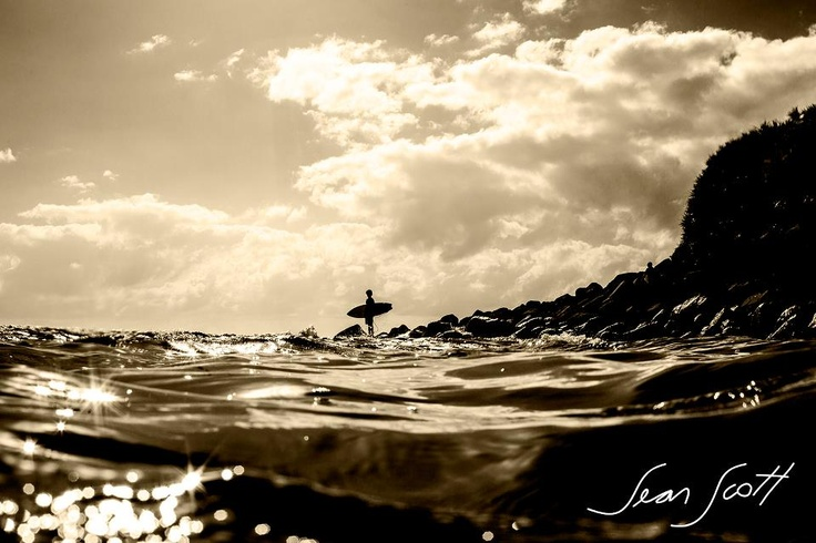 """""""Burleigh Point this morning. I like this one. :)""""...Sean Scott Photography"""