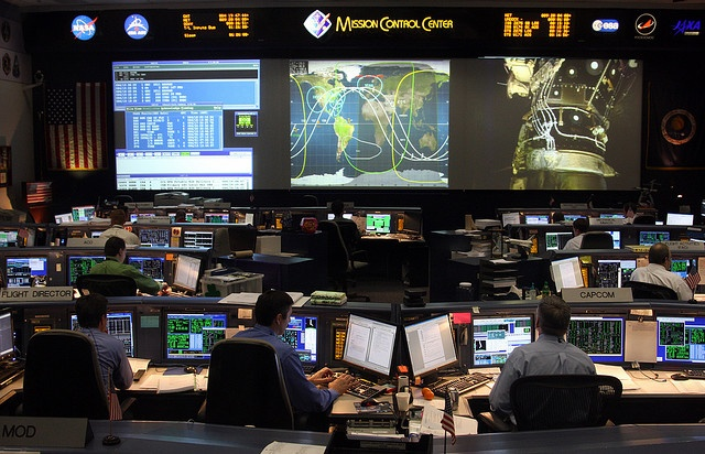 NASA Johnson Space Center Space Shuttle Mission Control Center