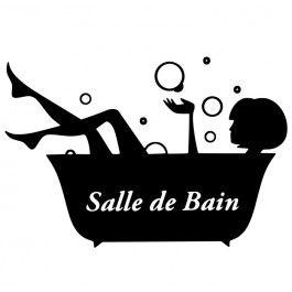 ... Stickers Salle De Bain sur Pinterest Salle De Bain, Sol Salle De