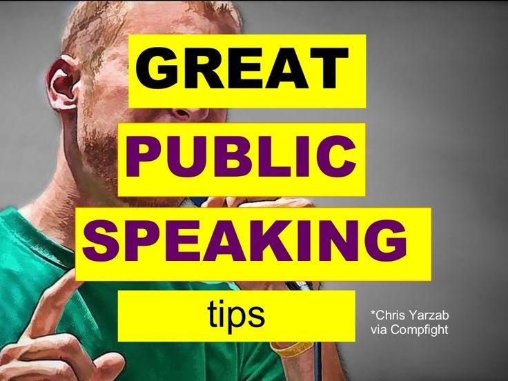 4 great public speaking tips effective presentation skills training by Akash Karia via slideshare