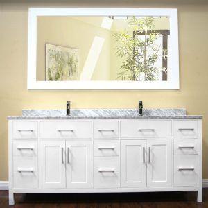 78 Double Sink Bathroom Vanity Top