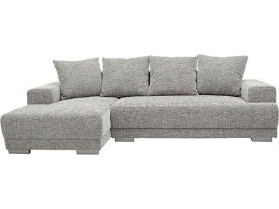 Canapé d'angle convertible gauche - TOAST coloris gris - code article :   289603