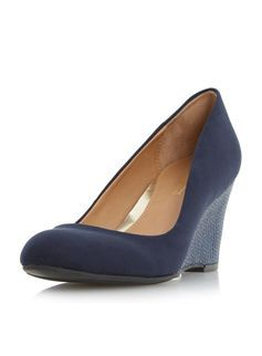 **Head Over Heels  'Angie' wedge shoes