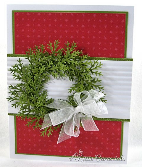 Snowflake punch to make wreath