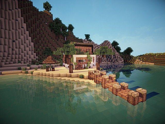 Best 25 Minecraft Beach House Ideas On Pinterest Minecraft