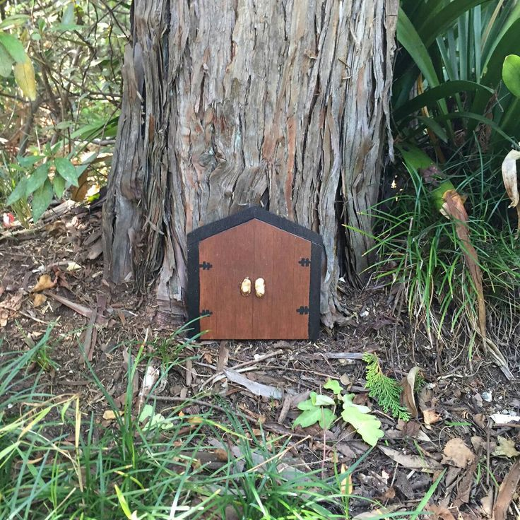 A personal favourite from my Etsy shop https://www.etsy.com/au/listing/289589171/large-fairy-door-double-fairy-door