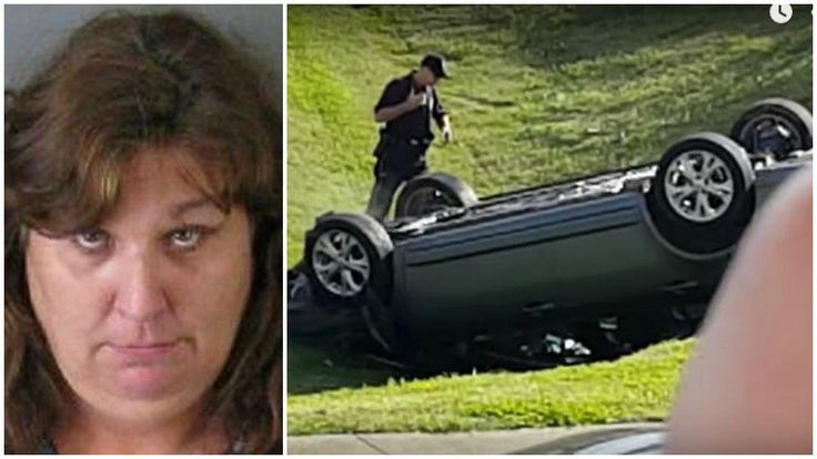GASTONIA, N.C. – A North Carolina woman accused of driving around in circles at a busy intersection and ramming into two police cars was off her medication, according to family.  The family of Bessemer City resident Debra Lloyd told the Gaston Gazette she has mental health problems andrecently stopped taking her medication.