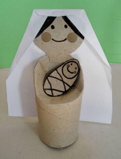 3d knutsel: Maria com o menino jesus