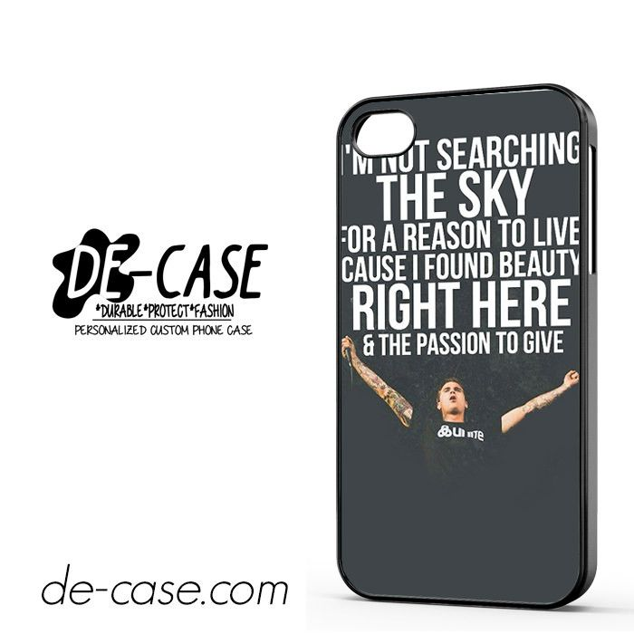 Amity Affliction Imnot Searching The Sky DEAL-736 Apple Phonecase Cover For Iphone 4 / Iphone 4S