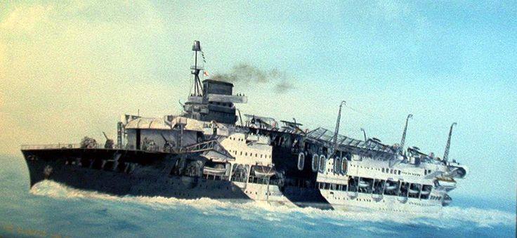 HMS Glorious.