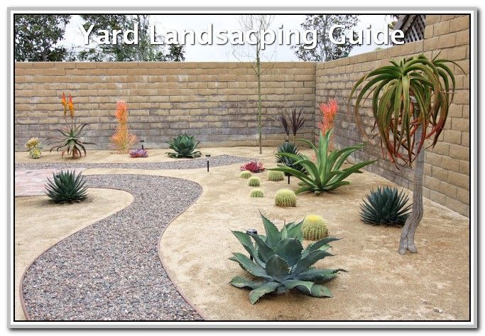 How To Make The Most Out Of Your Landscape Landscaping Lovers Desert Backyard Rock Garden Landscaping Desert Landscaping Backyard