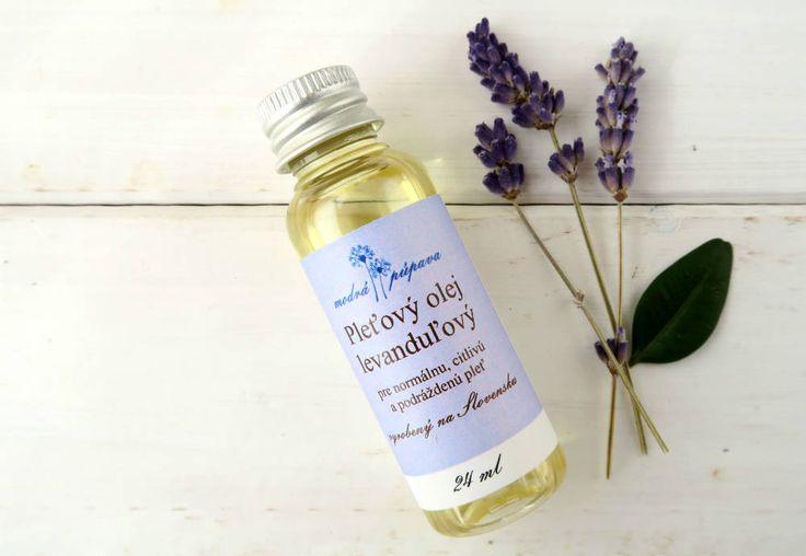 Pleťový olej levanduľový (24 ml)