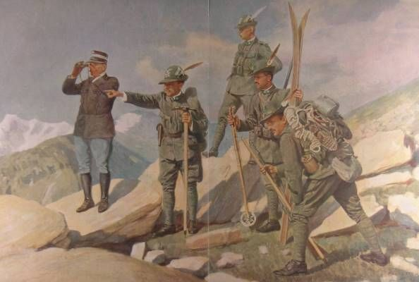 La divisa degli Alpini (1914)