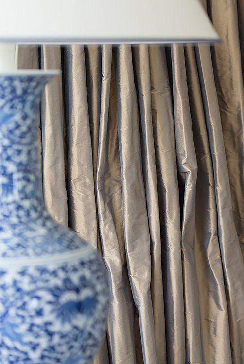 Zijden gordijnen Rubelli - Doornebal Interiors