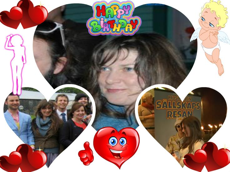 Happy Birthday, Anneli Pekula, today she s 45, even i didn t see you but i wish you all the best. Love, happiness, strong health, more luck and more success and let all your dreams come true. =)