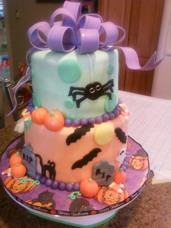 332 best Cakes images on Pinterest Halloween cakes, Cake ideas and - halloween decorated cakes
