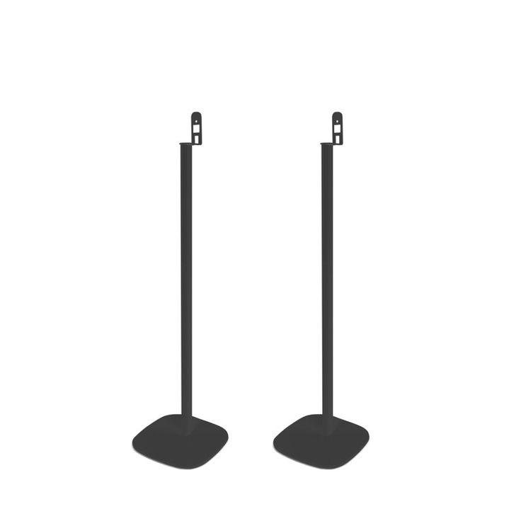 Vebos Standfuß Sonos Play 1 schwarz ein paar