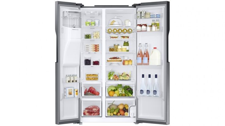 Samsung 589L Twin Cooling Side By Side Fridge - Fridges - Appliances - Kitchen Appliances | Harvey Norman Australia