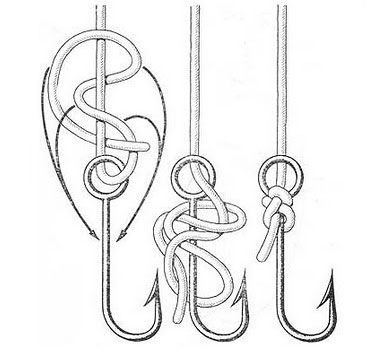 The 25 best fishing hook knots ideas on pinterest for Fishing knots for hooks
