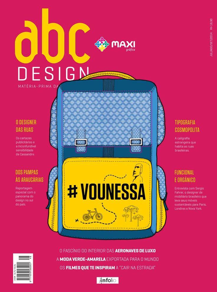 Capa da edição 48 da Revista abcDesign