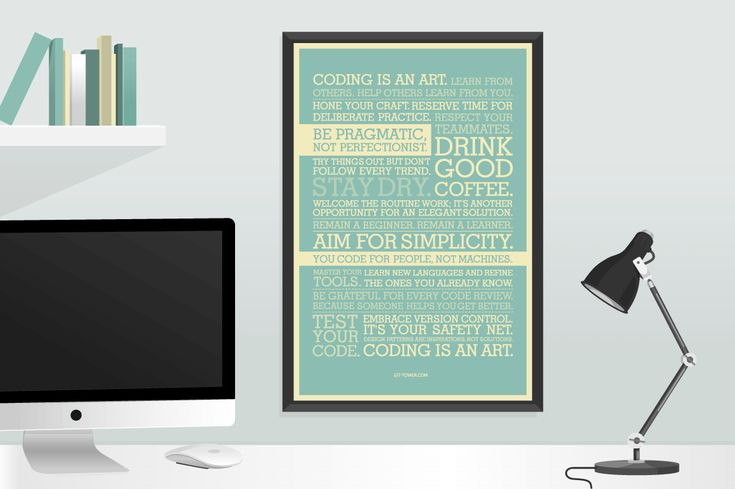 The Must-Have Developer Manifesto Poster - 30% off!