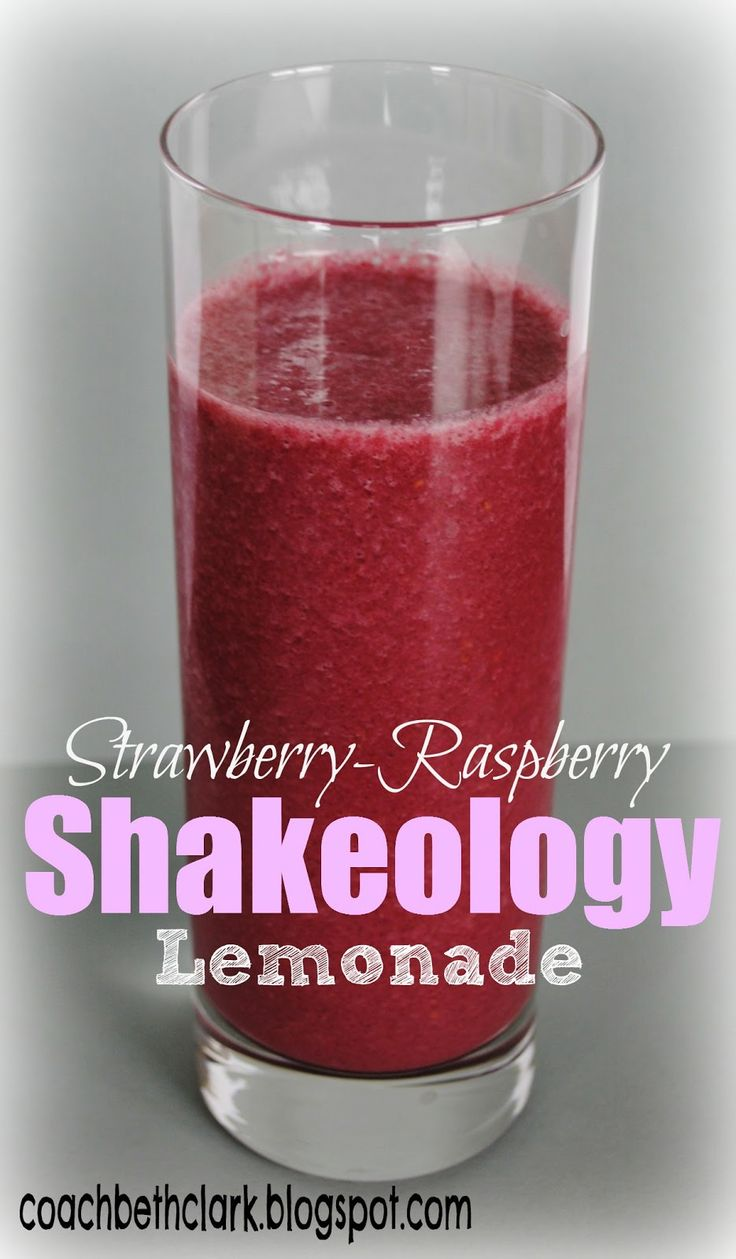 Body Remodel: Fuel Your Body Friday - Pink Lemonade Shakeology