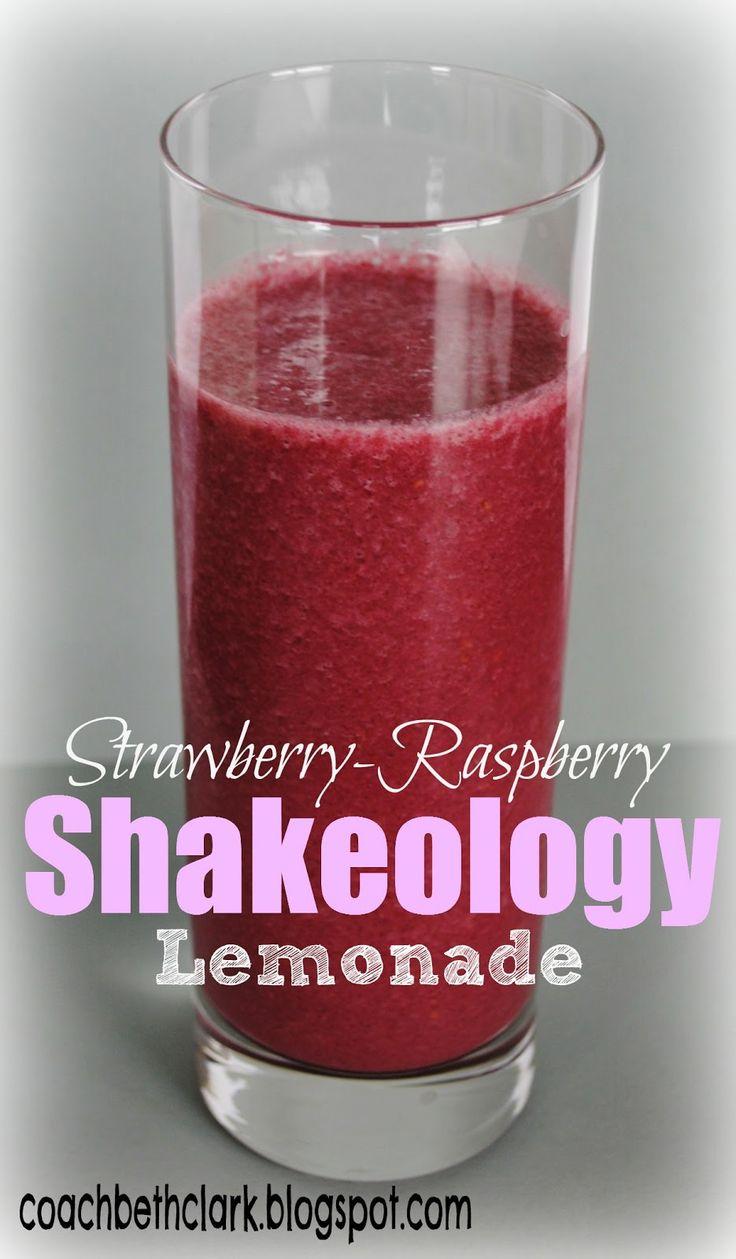 Body Remodel: Fuel Your Body Friday - Pink Lemonade Shakeology