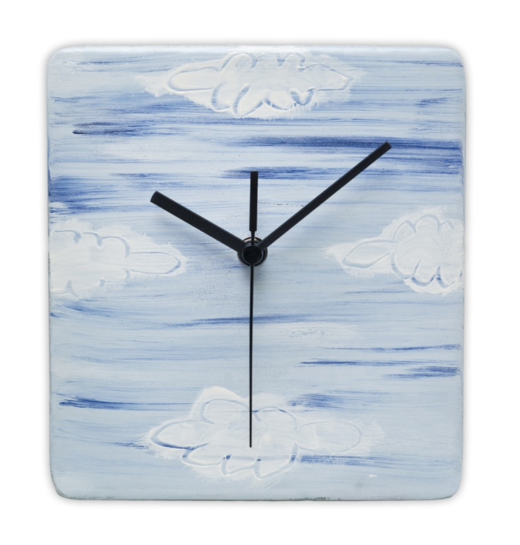 11 Best Images About Painted And Fused Glass Wall Clocks