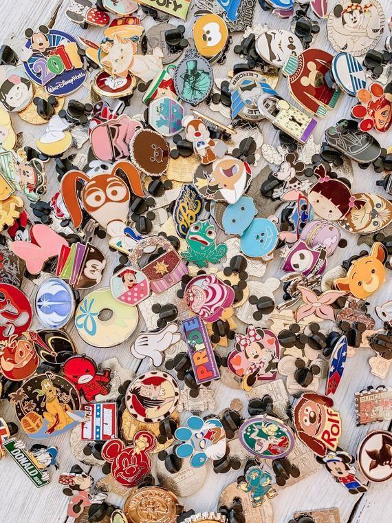 Disney Trading Pin Bundles 5, 10, 15, 20 100% Tradeable ...