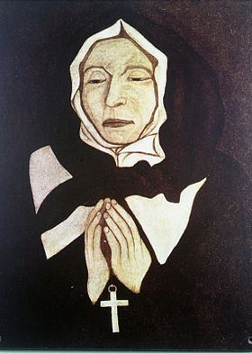 Saint Marguerite Bourgeoys was a realist and mystic who established the first school in an abandoned stable in the spring of 1658.for the education of the children of Montréal.