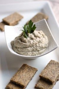 baba ghanoush--the healthier version of hummus that tastes better the longer it sits in your fridge