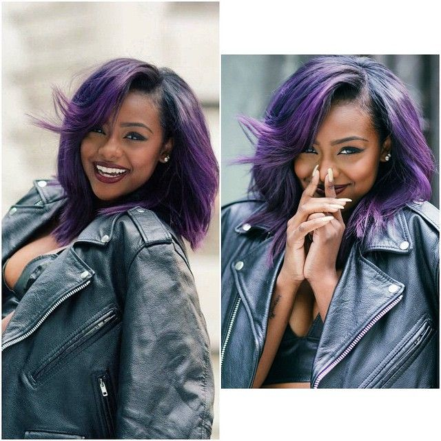 Ombre blue and pink hair color 2017